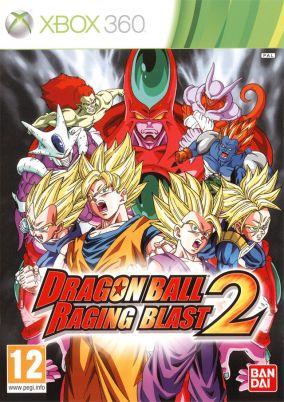 Copertina del gioco Dragon Ball: Raging Blast 2 per Xbox 360
