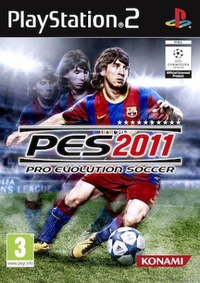 Copertina del gioco Pro Evolution Soccer 2011 per PlayStation 2