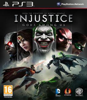 Immagine della copertina del gioco Injustice: Gods Among Us per PlayStation 3