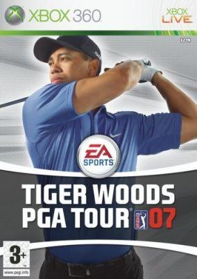 Copertina del gioco Tiger Woods PGA Tour 07 per Xbox 360