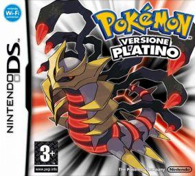 Immagine della copertina del gioco Pokemon Versione Platino per Nintendo DS