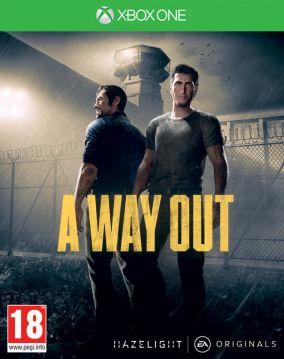 Immagine della copertina del gioco A Way Out per Xbox One