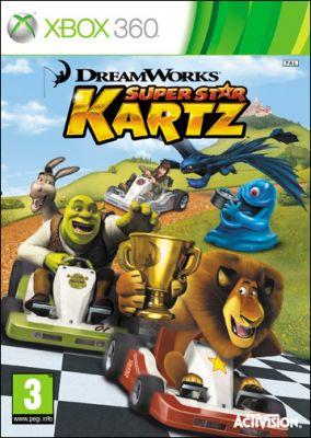 Copertina del gioco DreamWorks Superstar Kartz per Xbox 360