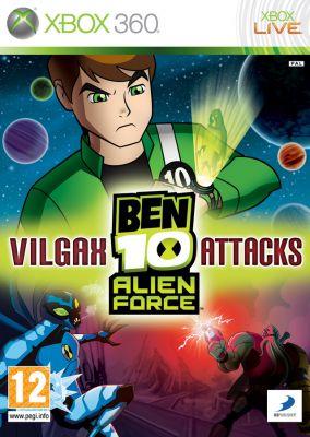 Copertina del gioco Ben 10: Alien Force: Vilgax Attacks per Xbox 360