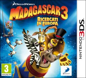 Immagine della copertina del gioco Madagascar 3: The Video Game per Nintendo 3DS
