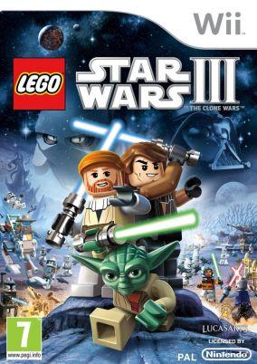 Immagine della copertina del gioco LEGO Star Wars III: The Clone Wars per Nintendo Wii