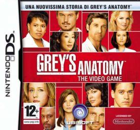 Immagine della copertina del gioco Grey's Anatomy per Nintendo DS