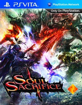 Immagine della copertina del gioco Soul Sacrifice per PSVITA