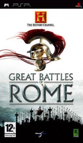 Immagine della copertina del gioco The History Channel: Great Battles of Rome per PlayStation PSP