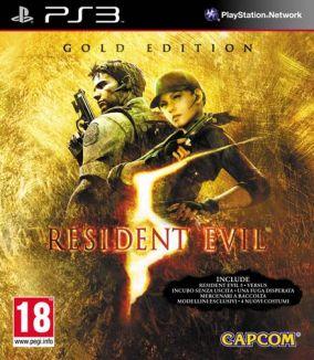 Immagine della copertina del gioco Resident Evil 5: Gold Edition per PlayStation 3