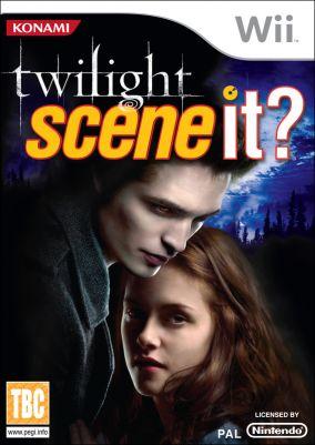 Immagine della copertina del gioco Scene It? Twilight per Nintendo Wii