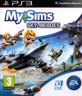 Copertina del gioco MySims SkyHeroes per PlayStation 3