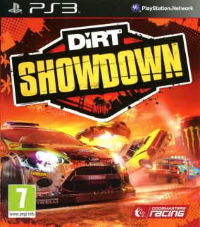 Copertina del gioco DiRT Showdown per PlayStation 3