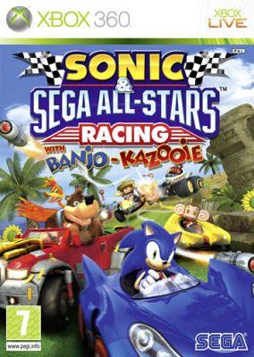 Copertina del gioco Sonic & Sega All star racing per Xbox 360