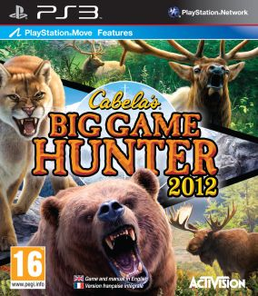Copertina del gioco Cabela's Big Game Hunter 2012 per PlayStation 3