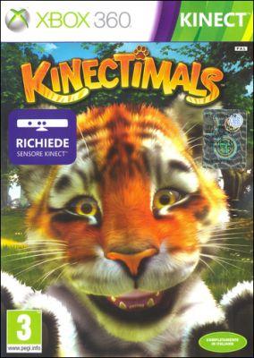 Copertina del gioco Kinectimals per Xbox 360