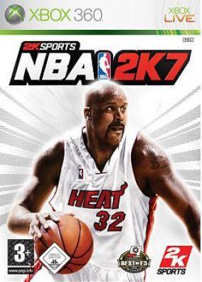Copertina del gioco NBA 2K7 per Xbox 360