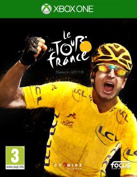 Copertina del gioco Tour de France 2018 per Xbox One