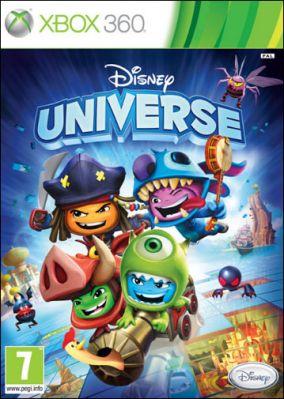 Copertina del gioco Disney Universe per Xbox 360