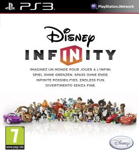 Copertina del gioco Disney Infinity per PlayStation 3
