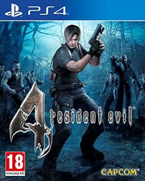 Copertina del gioco Resident Evil 4 per PlayStation 4