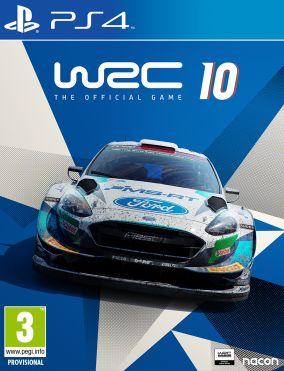 Copertina del gioco WRC 10 per PlayStation 4