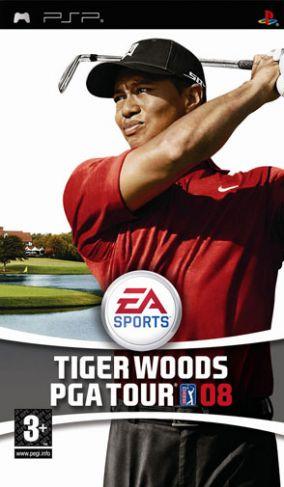 Immagine della copertina del gioco Tiger Woods PGA Tour 08 per Playstation PSP