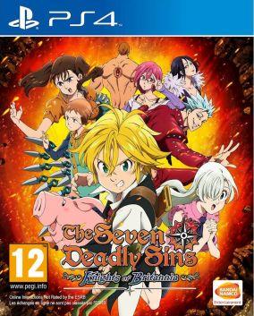 Immagine della copertina del gioco The Seven Deadly Sins: Knights of Britannia per Playstation 4
