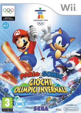 Immagine della copertina del gioco Mario & Sonic ai Giochi Olimpici Invernali per Nintendo Wii