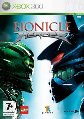 Copertina del gioco Lego Bionicle Heroes per Xbox 360
