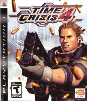 Copertina del gioco Time Crisis 4 per PlayStation 3
