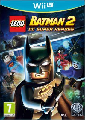 Immagine della copertina del gioco LEGO Batman 2: DC Super Heroes per Nintendo Wii U