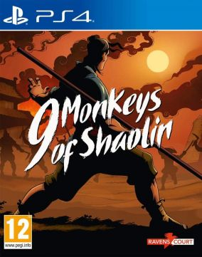 Copertina del gioco 9 Monkeys of Shaolin per PlayStation 4
