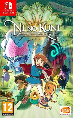 Copertina del gioco Ni no Kuni: La minaccia della Strega Cinerea Remastered per Nintendo Switch