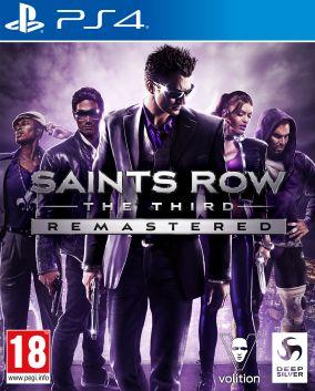 Copertina del gioco Saints Row: The Third Remastered per PlayStation 4