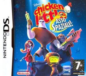 Immagine della copertina del gioco Chicken Little: Asso Spaziale per Nintendo DS