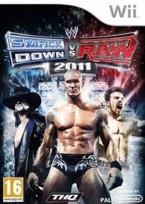 Immagine della copertina del gioco WWE Smackdown vs. RAW 2011 per Nintendo Wii