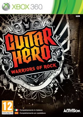 Copertina del gioco Guitar Hero: Warriors of Rock per Xbox 360