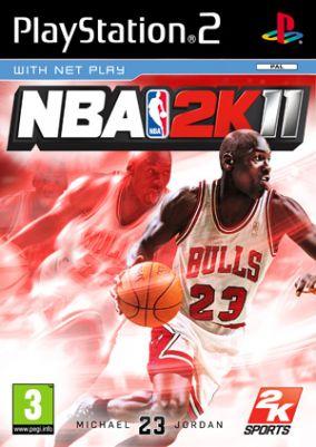 Copertina del gioco NBA 2K11 per PlayStation 2