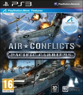 Copertina del gioco Air Conflicts Pacific Carriers per PlayStation 3