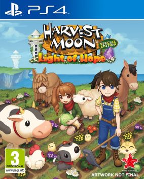 Copertina del gioco Harvest Moon: Light of Hope per PlayStation 4