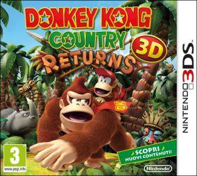 Immagine della copertina del gioco Donkey Kong Country Returns 3D per Nintendo 3DS