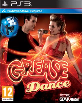 Copertina del gioco Grease Dance per PlayStation 3