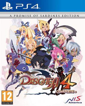 Copertina del gioco Disgaea 4 Complete+ per PlayStation 4