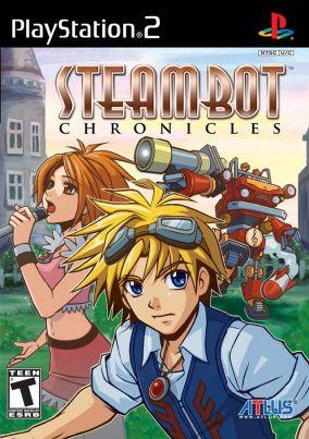 Immagine della copertina del gioco Steambot Chronicles per PlayStation 2
