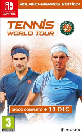 Copertina del gioco Tennis World Tour - Roland-Garros Edition per Nintendo Switch