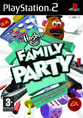 Immagine della copertina del gioco Hasbro Family Party per PlayStation 2