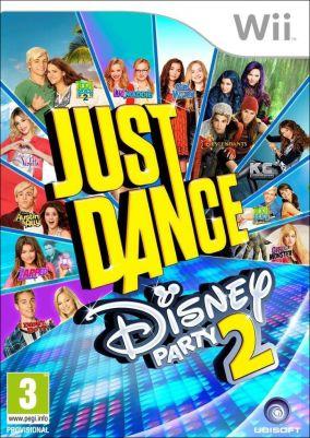 Immagine della copertina del gioco Just Dance: Disney Party 2 per Nintendo Wii
