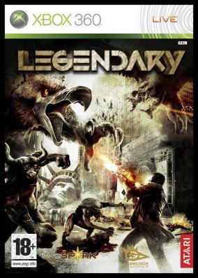 Copertina del gioco Legendary per Xbox 360