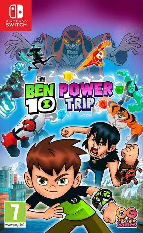 Copertina del gioco Ben 10: Power Trip per Nintendo Switch